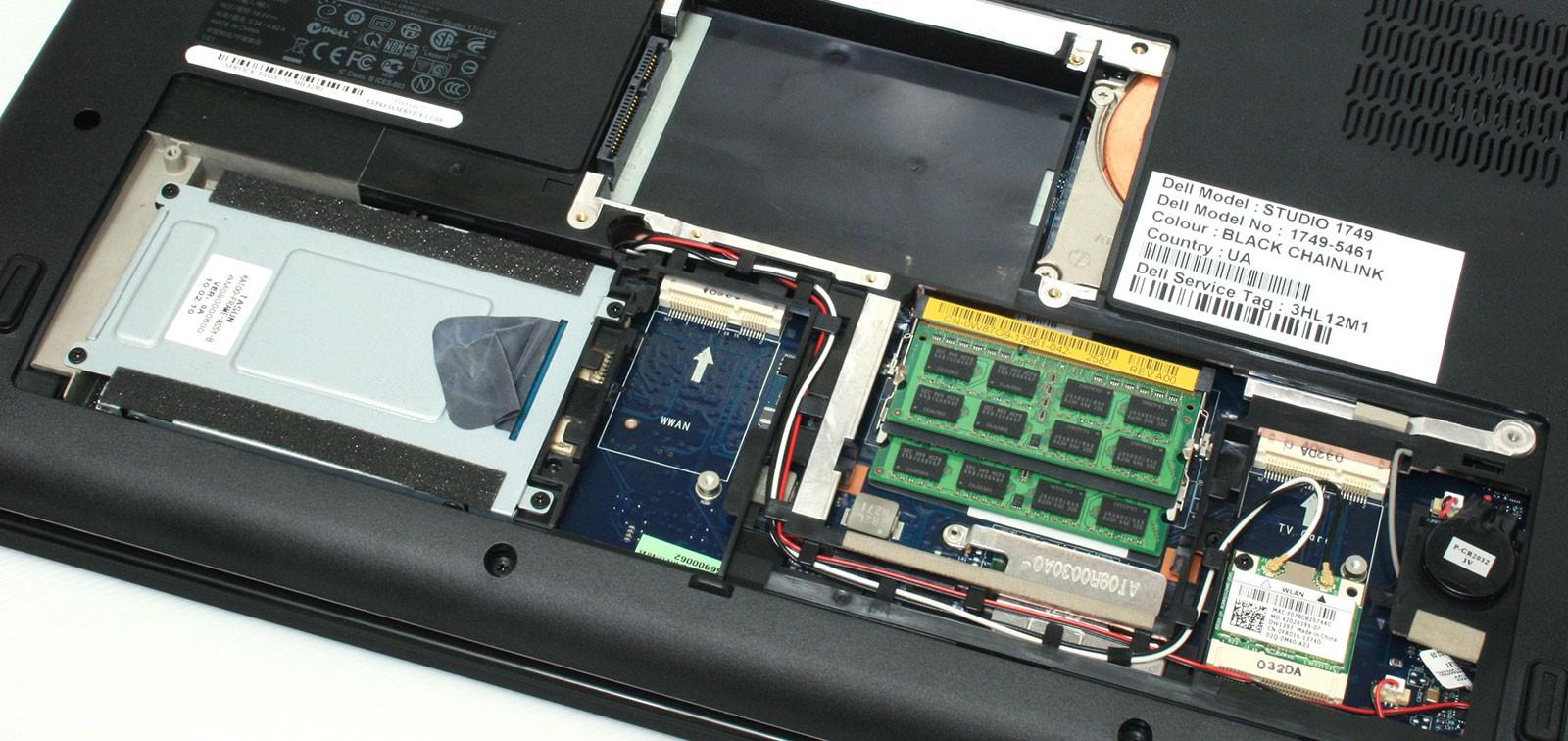 Замена HDD жесткого диска в ноутбуке в Минске