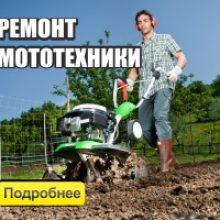 Ремонт мотоблока в Минске